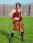 Amazon Leather Xena Outfit