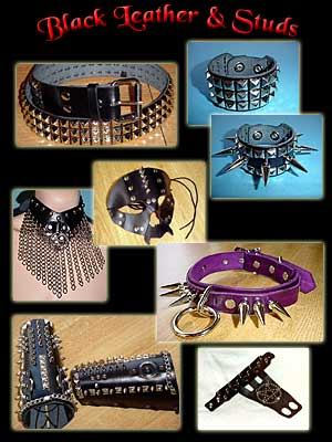 Classic Leather & Studs!