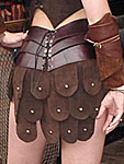 Amazon Leather Armor Skirt